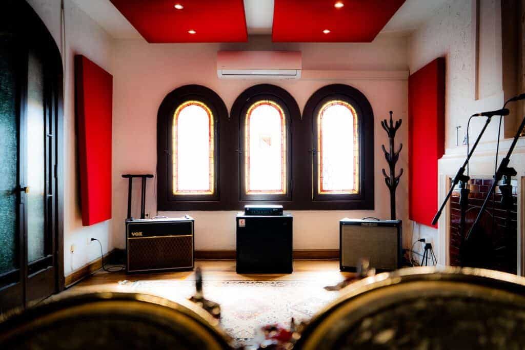 Sala de Ensayo El living